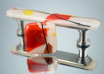 Autumn Handmade Glass Cabinet Hardware