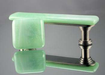 Mint to Be Handmade Glass Cabinet Hardware